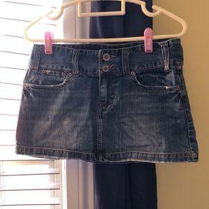 AE jean skirt